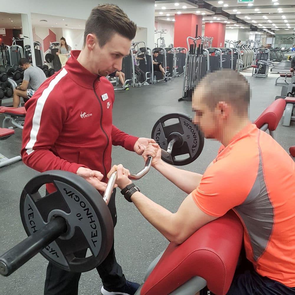 Riccardo La Ferrara personal trainer Milano Lecco provincia