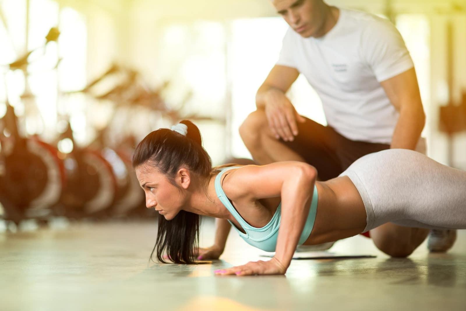 personal trainer istruttore preparazione atletica fisica potenziamento muscolare